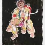 Georg Baselitz: Moderner Maler - auf, auf 2007 Foto: Jochen Littkemann Courtesy Contemporary Fine Arts, Berlin