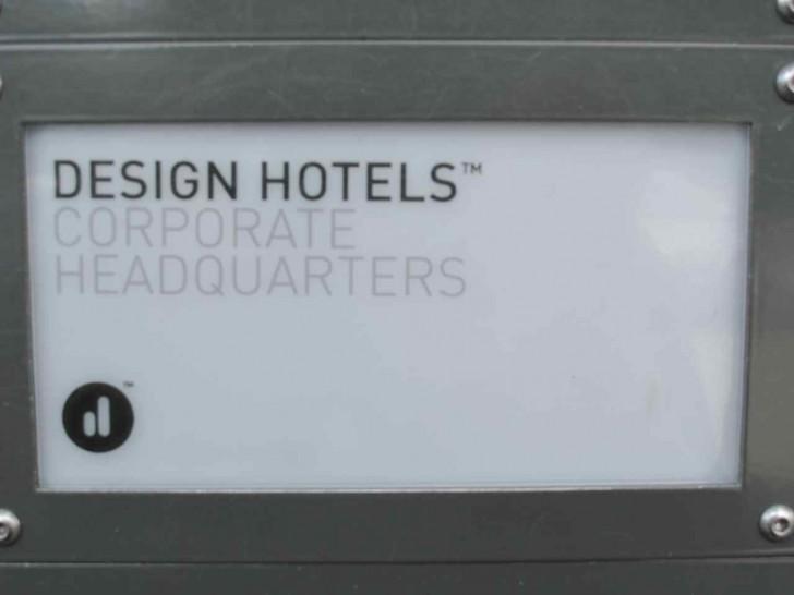 Design Hotels Headquarter