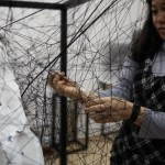 Chiharu Shiota: Im Berliner Atelier