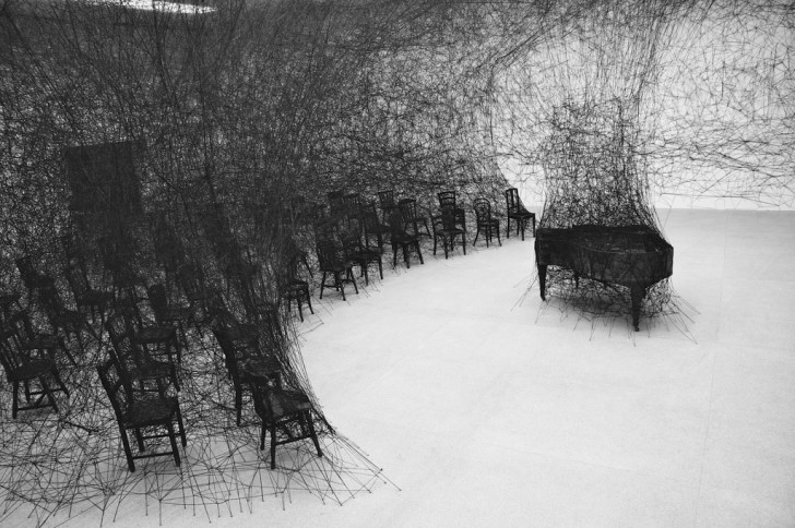Chiharu Shiota: In Silence-Biel 2008