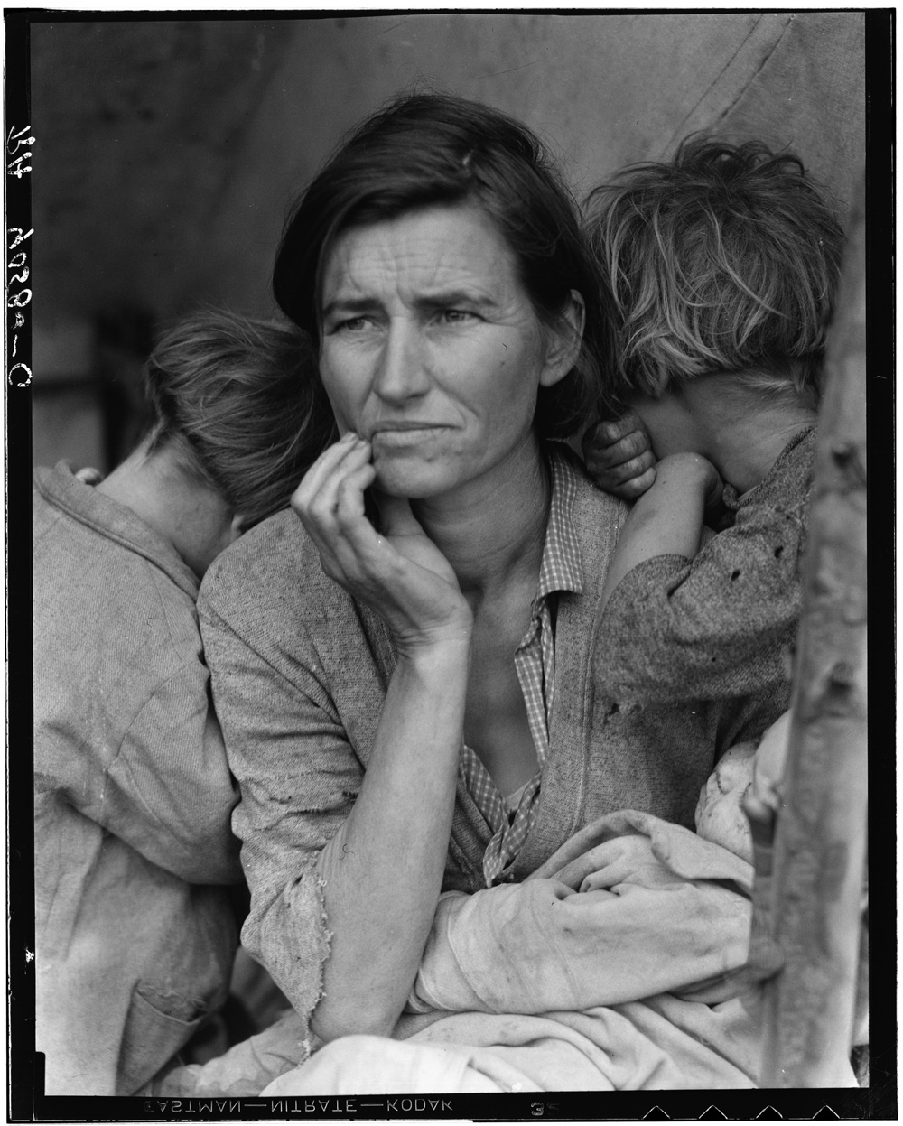 Dorothea Lange_Migrant Mother_1936