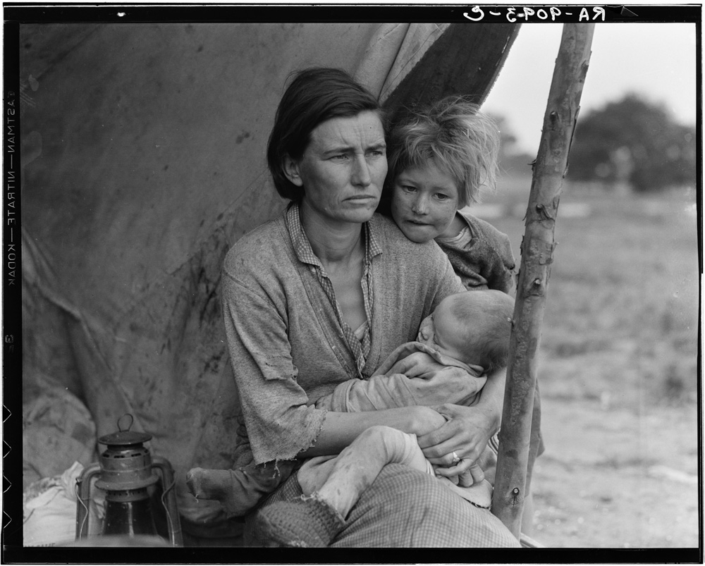 Dorothea Lang: Migrant Mother