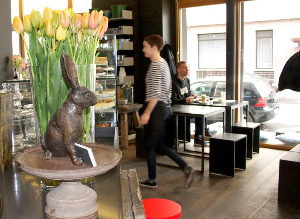 Café Oliv: Interior
