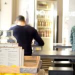 Café Oliv in der Münzstrasse