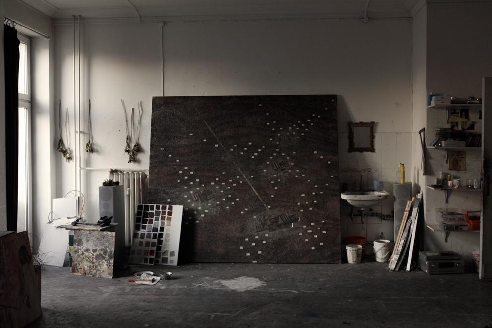 Armin Boehm: Neue Bilder im Atelier