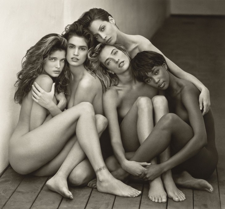 Herb Ritts: Supermodels, 1989