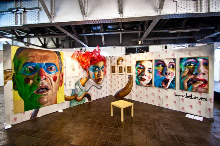 Belin @ Stroke Urban Art Fair
