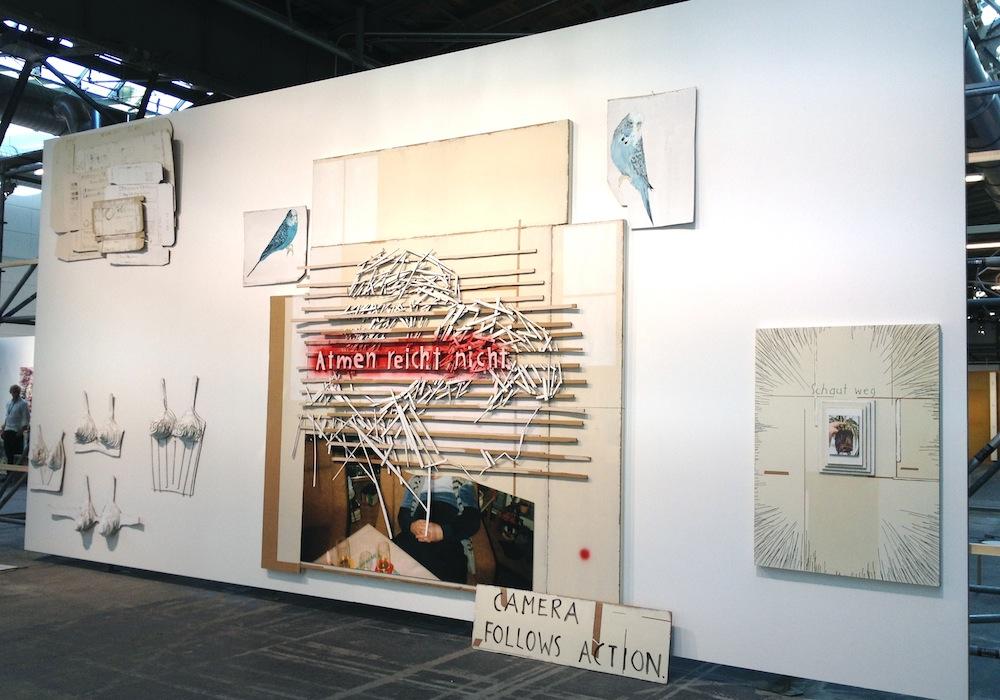 Arbeiten von Birgit Brenner auf der abc - Galerie: Eigen + Art