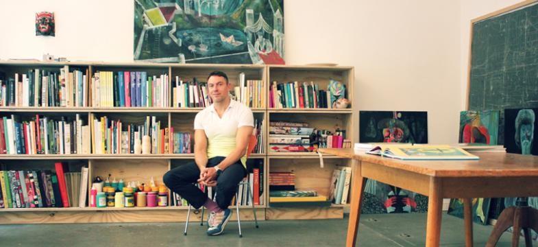Olaf Hajek: Von der Illustration zur freien Kunst
