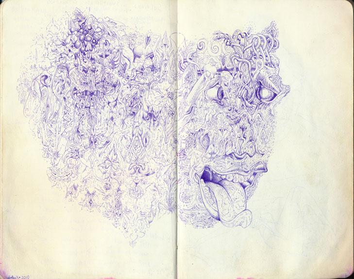 Oliver-Halsman-Rosenberg-india-sketch