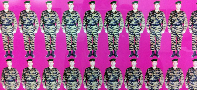 Khaled Jarrar at The Battalion in Geneva – or – why pink is strength