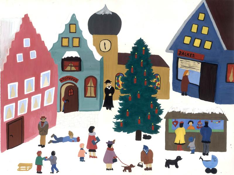 Paperworlds Katja Strunz Weihnachtsmarkt