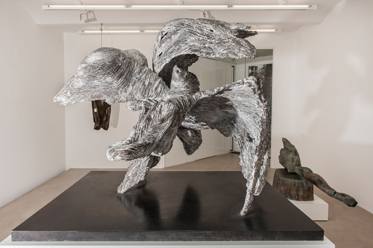 Ausstellungsansicht: Alexander Polzin bei Galerie Kornfeld