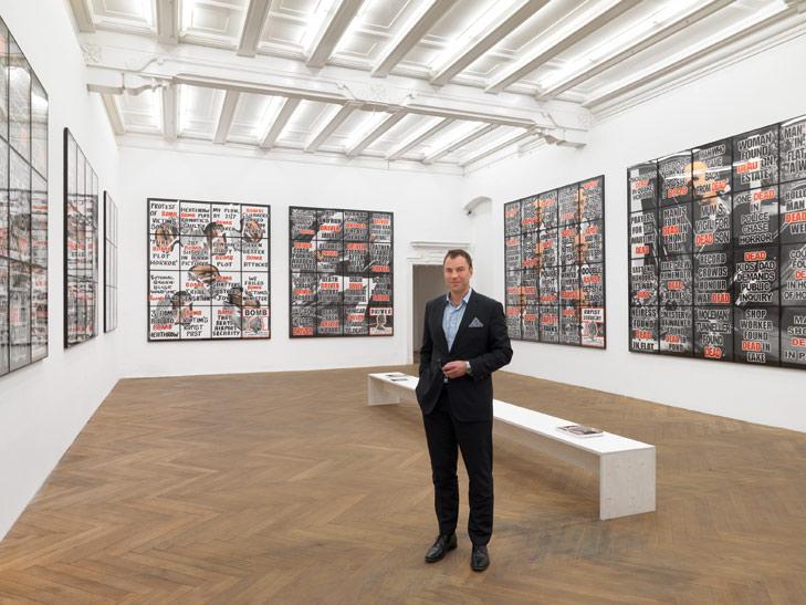 Galerist Matthias Arndt