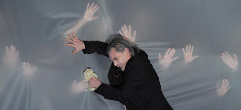 Alexander Polzin. Gewaltige Bildende Kunst für die Oper
