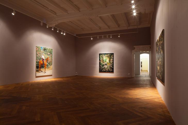 Galerie Arndt: Ausstellungsraum