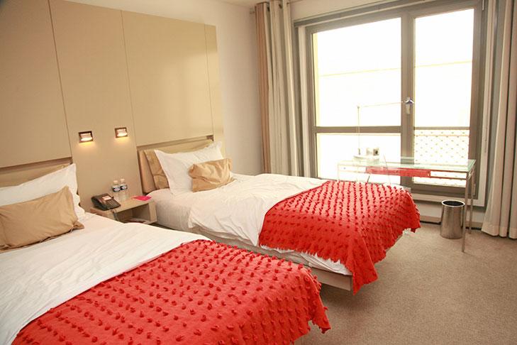 Hotel Josef: Room