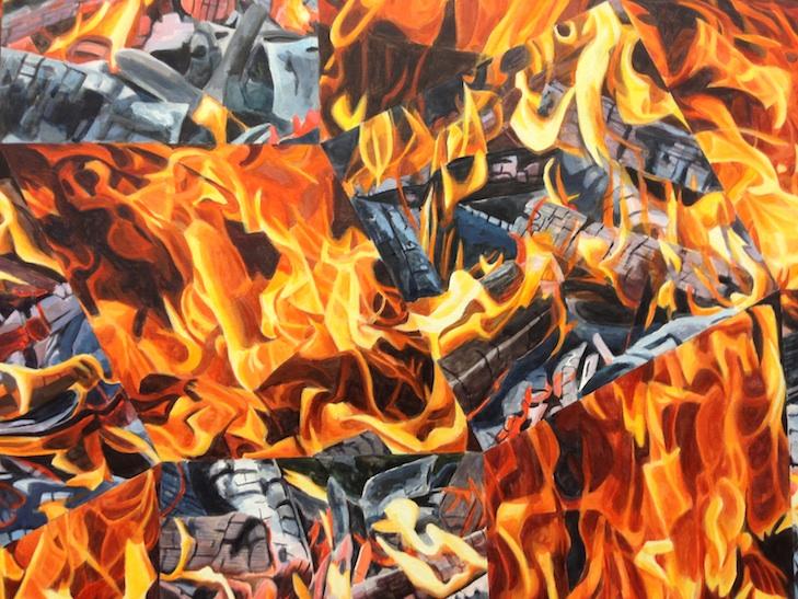 Corinne Wasmuth: Feuerbild