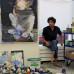 Cristina Fiorenza im Wiener Atelier