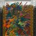 Jigger Cruz: The Fall of Chromatic Sunrise, 2014. Oil on canvas and wood. 86 × 45 cm