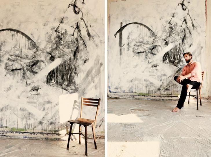 ARTberlin bei Maximilian Magnus im Atelier