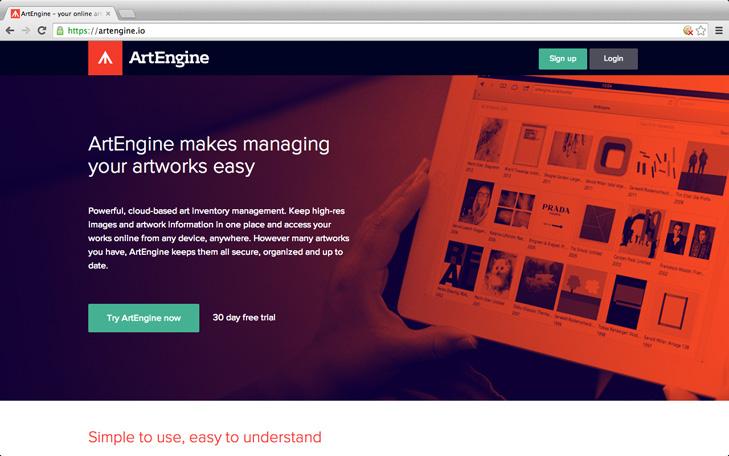 ArtEngine Webseite