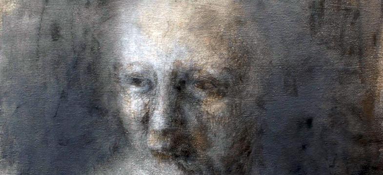 Diana Sprenger malt mit wenig Sehkraft hypnotische Tiefe