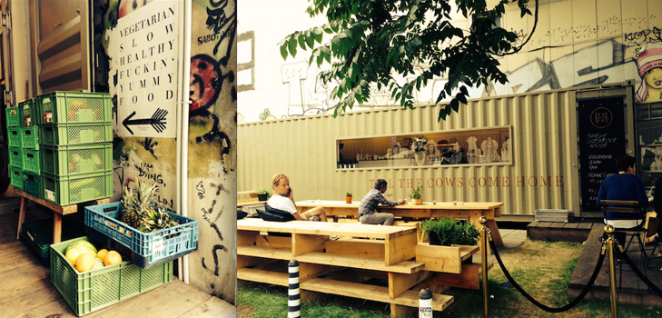 Till the cows come home: Vegetarian Food in Berlin