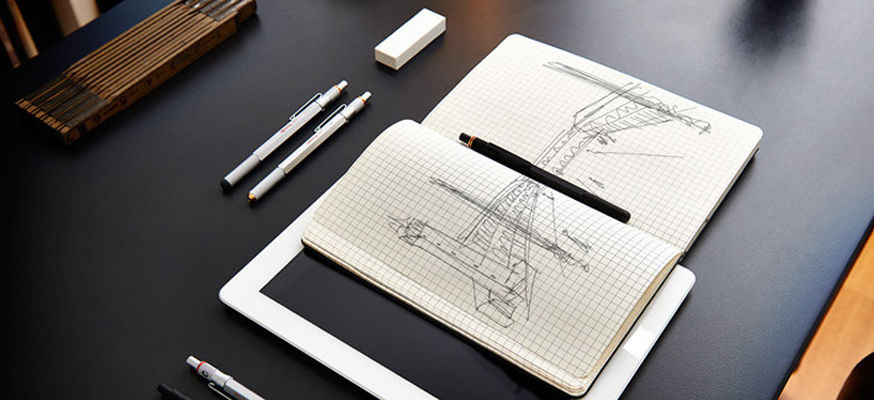 THINK ON. CREATE. BECOME AWARDED WITH rOtring.