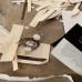 Eli Cortinas: Skizzen im Atelier