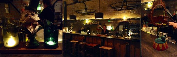 The bar at Fame Katerschmaus