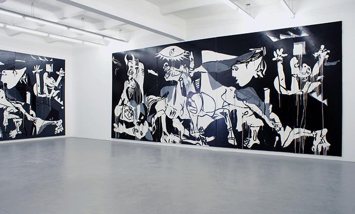 Tatjana Dol: -Im Westen Nichts Neues, Ausstellungsansicht