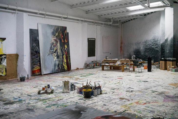 Künstler Maler Berlin tatjana doll ich bediene kein klischee malerei artberlin de