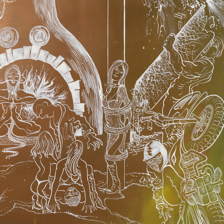 Detail: Bernhard Martin: Hotel Energie, 2015 © VG BILD KUNST Bonn, 2015,Repro Roman März