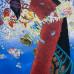 Christa Dichgans: Turmbau zu Babel, 1987, Öl auf Leinwand, 116x89cm