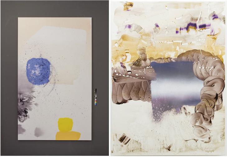 Florin Kompatscher: Ohne Titel, 2013, Öl auf Leinen