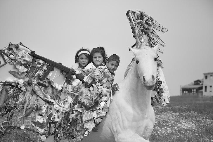 Pegasus in Athens. Greece - Mia Florentine Weiss - Photo credit: Mia Florentine Weiss