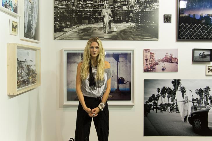 Mia Florentine Weiss auf der Positions, photoc credit: Raphael Mathes