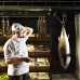 A chef at QT Sydney sizing up tonight's dinner. Image courtesy of QT.