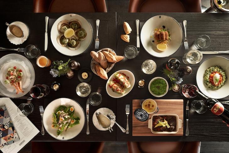 QT Sydney Gowings Restaurant Food