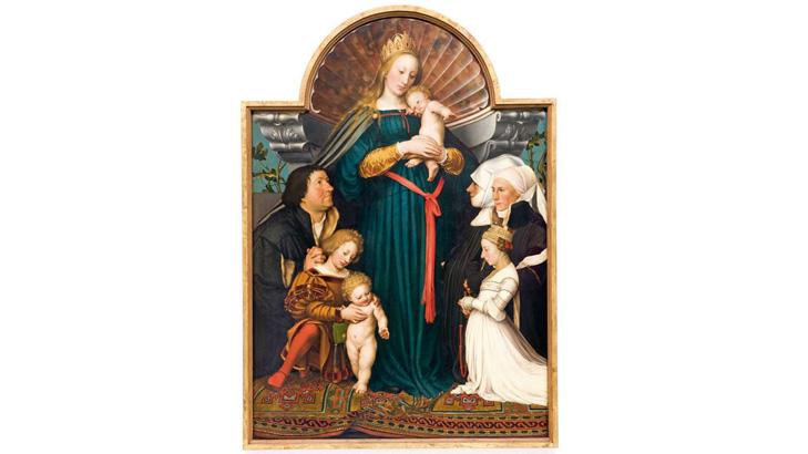 Hans Holbein: Schutzmantelmadonna