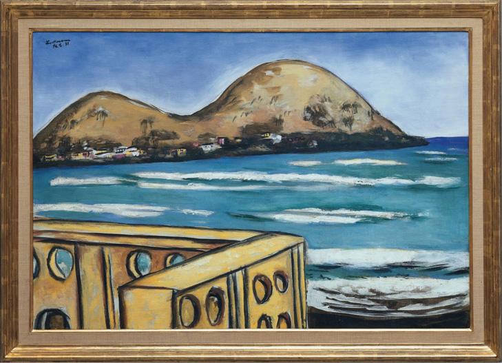 Max Beckmann: Landschaft bei Saint-Cyr-Sur-Mer, 1931 Sammlung Würth, Inv. 6787 © Sammlung Würth, Foto: Philipp Schönborn