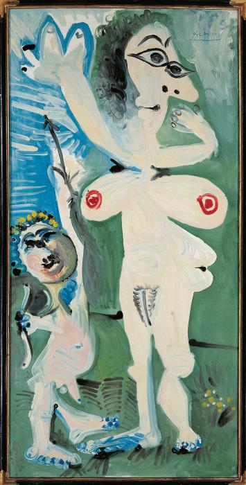 Pablo Picasso: Venus und Amor, 1968 Sammlung Würth, Inv. 3006 © Succession Picasso / VG Bild-Kunst, Bonn 2015