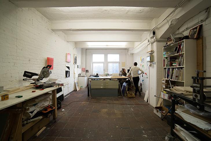 Katrin Bremermann: Atelier in Berlin