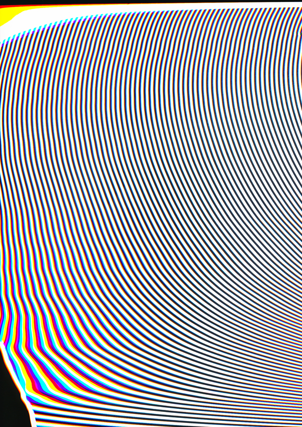 Carsten Nicolai: scan distortion, 2016, pigment print on paper, copyright Carsten Nicolai_courtesy EIGEN u ART