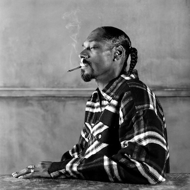 Snoop Dog, Los Angeles, shot by Olaf Heine, 2003
