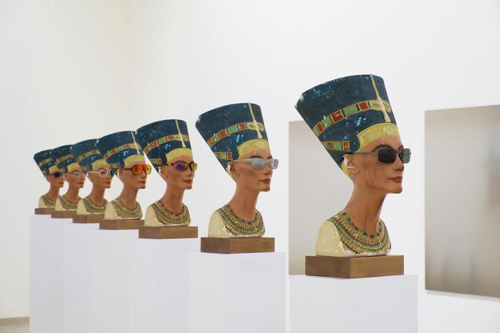 Isa Genzken, Nofretete, 2014, Courtesy Galerie Buchholz, Berlin/Köln