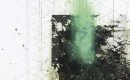 Kai-Mailänder-Nr.172-Tintenstrahldruck-Lackfarbe-Ölfarbe-Bleistift-Papier-40x30cm-2016