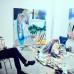 Winston Chmielinski in seinem Atelier in Kreuzberg, photo credit: Martin Peterdamm