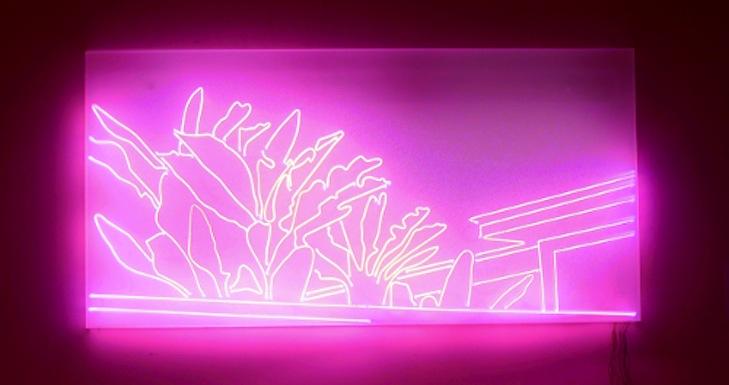 Sven Drühl - neon - 2007